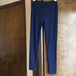 Navy blue LuLaRoe leggings
